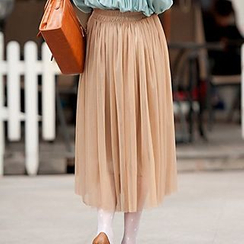 Out & About - Midi Tulle Skirt