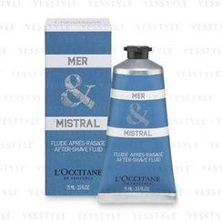 L'Occitane - Mer & Mistral After Shave Fluid (Limited Edition)