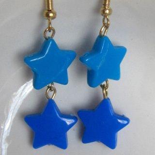 MyLittleThing - Sweetie Blue Stars Earrings
