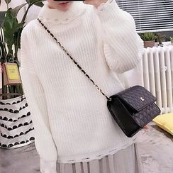 YUKISHU - 高领毛衣