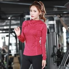 Tamtam Beach - Long-Sleeve Hooded Sport Top