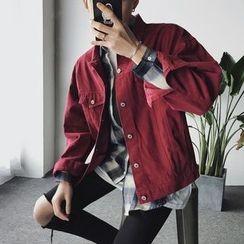 子俊 - 刺绣饰领外套