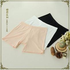舒然衣社 - 莫代尔棉薄款安全裤