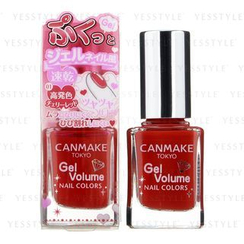 Canmake - Gel Volume Nail Color (#01 Cherry Red)