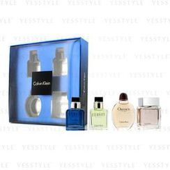 Calvin Klein 卡爾文克來恩 - Miniature Coffret: Eternity Men, Eternity Aqua Men, Obsession Men, Euphoria Men