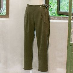 Usado - Cropped Straight Fit Pants