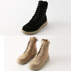 Remember Click - Faux-Suede Boots