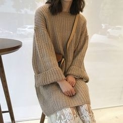 Cloud Nine - Chunky Knit Long Sweater