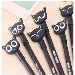 School Time - Cat Gel Pen (4 types eyes)