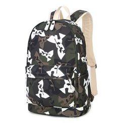 VIVA - Camouflage Print Backpack