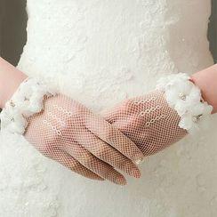 Neostar - Lace Wedding Gloves