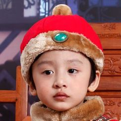 Snow Dragon - Kids Traditional Chinese Hat