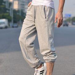 MaxBlue - Plain Sweatpants