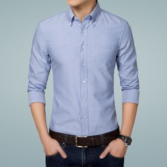Riverland - Plain Oxford Shirt