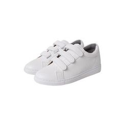 JOGUNSHOP - Faux-Leather Velcro Sneakers
