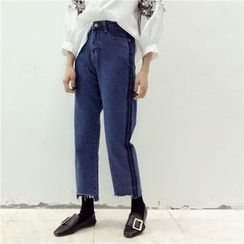 Octavia - Cropped Straight Fit Jeans