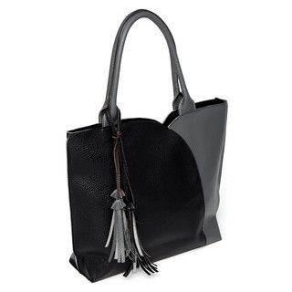 yeswalker - Tassel-Accent Color-Block Tote