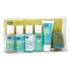 Bliss - Lemon and Sage Sinkside Six Pack: Body Butter + Soapy Sap + Shampoo + Conditioner + Face Wash + Soap