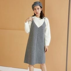 AC - Sleeveless Wool Dress