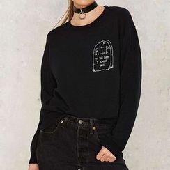Richcoco - Print Sweatshirt