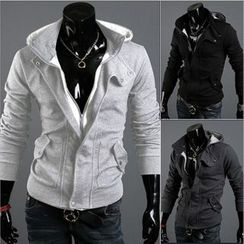 Hansel - Hooded Zip Up Jacket