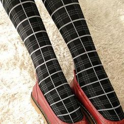 NANA Stockings - Plaid Tights