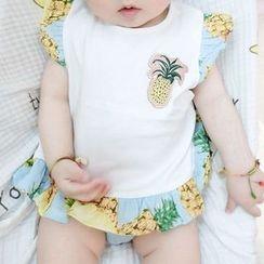 MOM Kiss - Baby Sleeveless Bodysuit