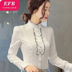 Eferu - Frill Trim Shirt