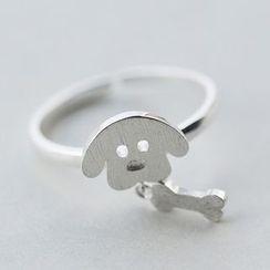 A'ROCH - 925 Sterling SilverDog Ring