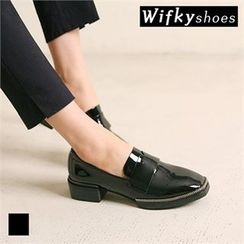 Wifky - Metal-Trim Patent Loafers