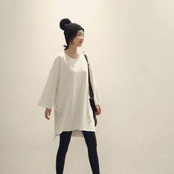 NANING9 - Cotton Oversized T-Shirt