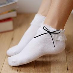 MEIA - 蕾丝边袜