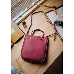 GOROKE - Faux-Leather Shoulder Bag