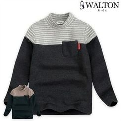 WALTON kids - Kids Color-Block Top