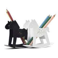 LIFE STORY - Rocking Horse Pen Holder