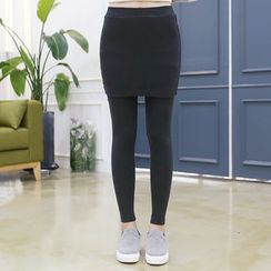 DANI LOVE - Inset Skirt Leggings