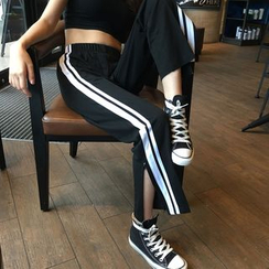 Tiny Times - Slit Sweatpants