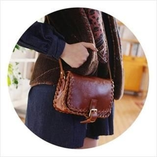 GOROKE - Genuine Leather Crossbody Bag