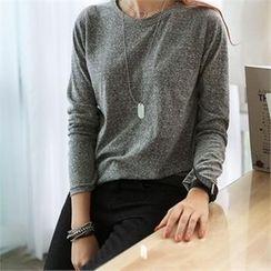 CHICFOX - Crewneck Long-Sleeve T-Shirt