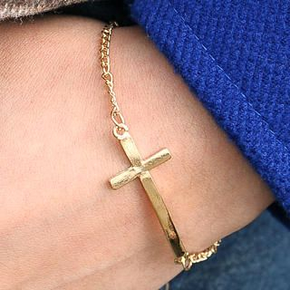 59 Seconds - Cross Bracelet