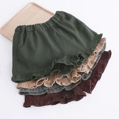 Piko - Ruffle Trim Shorts