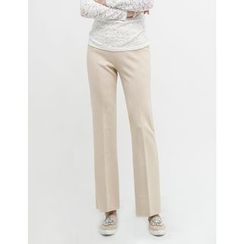 GUMZZI - Flat-Front Dress Pants