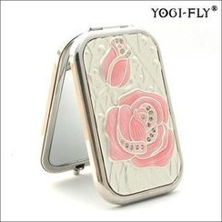 Yogi-Fly - Beauty Compact Mirror (XK005P) (Pink)