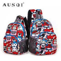 Ausqi - Kids Cartoon-Print Backpack