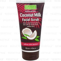 Beauty Formulas - 椰奶面部去角质磨砂适