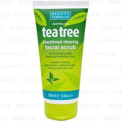 Beauty Formulas - Tea Tree Blackhead Clearing Facial Scrub