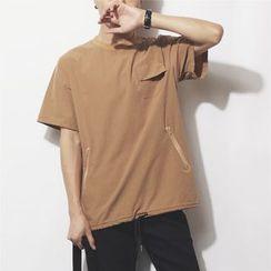 Mr.C studio - Plain Short-Sleeve T-Shirt
