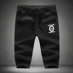 Alvicio - 印花运动短裤
