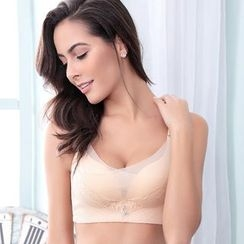 Wanga - Seamless Lace Push up Bra