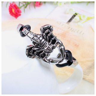 KINNO - Scorpion Faux Leather Bracelet